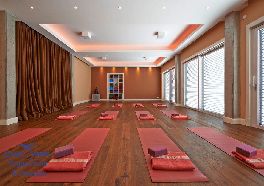 cori yoga Insel Usedom -  Yogaschule & Pension - Ostseebad Trassenheide- Yogaraum 1