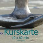 Kurskarte 10x60 - cori yoga Insel Usedom Yogaschule - yogashop
